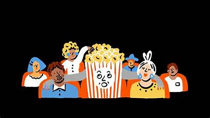Movies Clipart Theater Master Audience Popcorn Marie