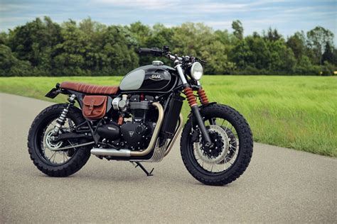 Triumph Bonneville T120 Modification by Baak Motorcycles Triumph Bonneville T120