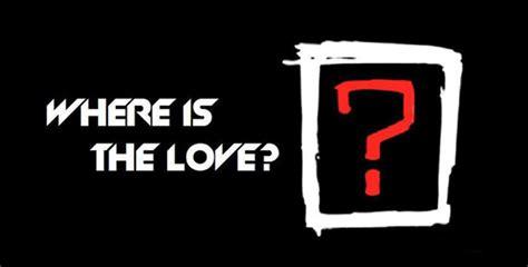 Black Eyed Peas Once Again Question #whereisthelove