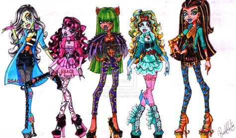 Monster High Rockstars Part 1 By Rsac3.deviantart.com On