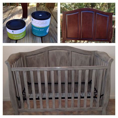 Baby Biting Crib Paint by Diy Painted Crib Cece Caldwell Chalk Paint Connor