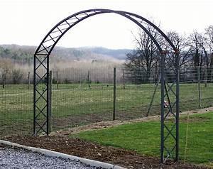 Arche Metal Pour Plante Grimpante : arche en bois pour plante grimpante ~ Premium-room.com Idées de Décoration