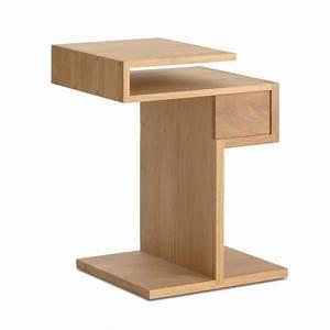 Table De Chevet Design : table de chevet simple ~ Teatrodelosmanantiales.com Idées de Décoration