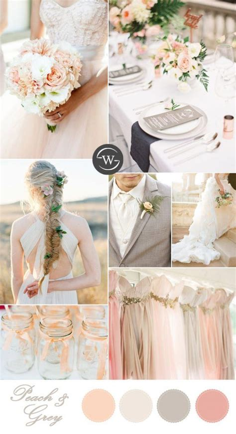 25 best ideas about grey peach wedding on pinterest