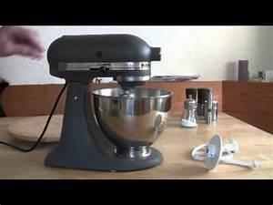 Kitchen Aid Farben : kitchenaid ultra power grau youtube ~ Watch28wear.com Haus und Dekorationen
