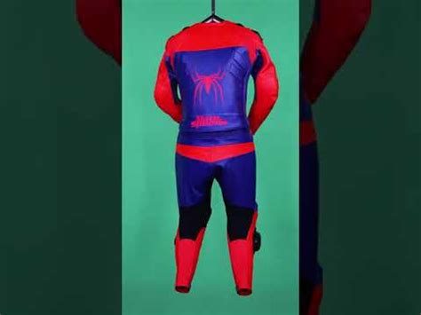 spiderman leather race suit   order leathers