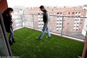 Gazon Synthétique Pas Cher Belgique : tutoriel pose de gazon artificiel sur terrasse greenside blog ~ Melissatoandfro.com Idées de Décoration