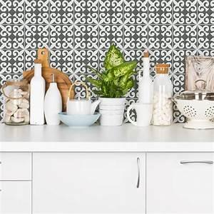 Stickers Carreaux De Ciment Cuisine : 24 stickers carreaux de ciment azulejos laudina cuisine ~ Melissatoandfro.com Idées de Décoration