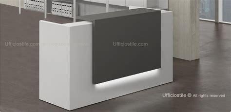 Mensola Laccata Mobili Per Ufficio Piccola Reception Cm 166 Con Mensola
