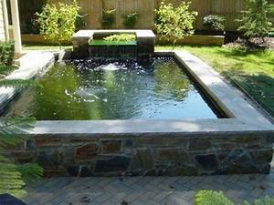 Backyard waterfalls, raised pond with waterfall plastic