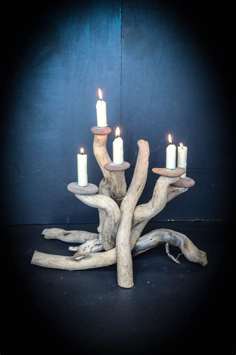 driftwood candle holder driftwood furniture for