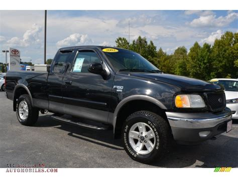 Black Ford F150 by 2002 Ford F150 Xlt Supercab 4x4 In Black A02165 All