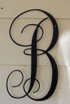 pin  jamie wallace  wrought iron outdoor metal wall decor front door monogram outdoor