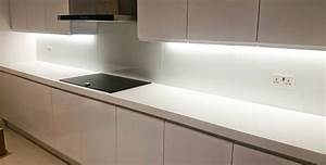 Corian Glacier White Island And Worktop Installation