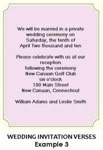 wording  wedding reception invitations