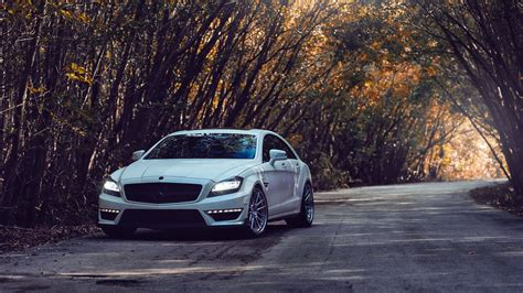 Cars Amg Roads Tuning Tuned Mercedes-benz Cls-class