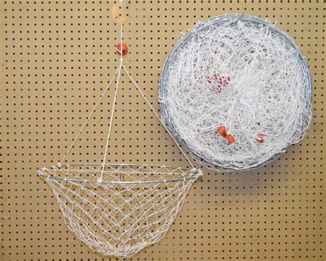 dozen white crab nets  single ring