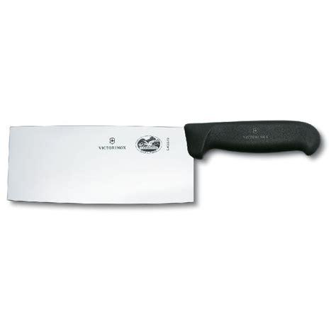 couteau chinois cuisine couteau de chef chinois lame 18cm manche synthétique noir