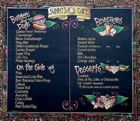 › what to serve with coffee and tea. chalk artist menu board carmel in - Google Search   Coffee ...
