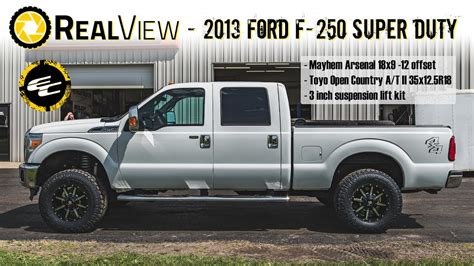realview lifted  ford     mayhem arsenals