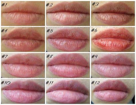 beauty wednesday tinted lip balms