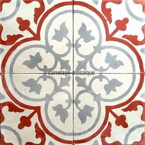 Carreau De Ciment Mural Cuisine : carreau ciment 1m2 modele lys 01 carrelage mosaique ~ Louise-bijoux.com Idées de Décoration