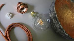 Lampen Selber Basteln Anleitung : lampenschirm selber machen designerlampe in betonoptik basteln ~ Markanthonyermac.com Haus und Dekorationen