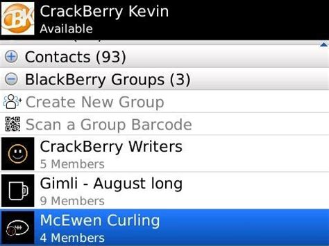 crackberry poll how many blackberry messenger groups do you belong to what of groups are