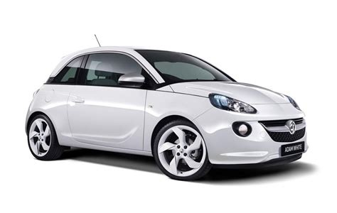vauxhall white vauxhall unveils 2014 adam black and white editions