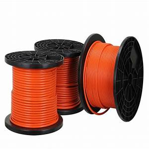 China Anneal Copper Stranded Conductor Rubber Sheath