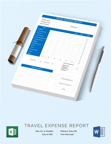 expense sheet template   word excel