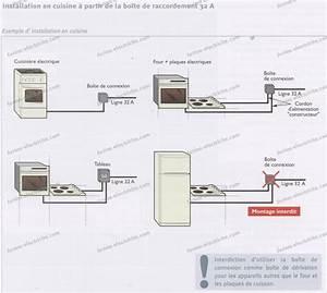 Norme Branchement Four Electrique : question lectricit branchement four lectrique et une ~ Premium-room.com Idées de Décoration