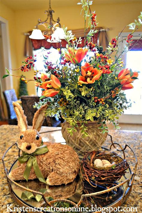 kitchen island centerpiece 1000 images about easter ideas on 1861