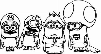 Coloring Pages Minion Minions