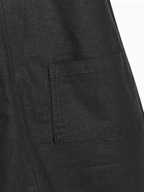 N3XT BLACK Pure Cotton Twin Pocket Shift Dress - Size 8 to