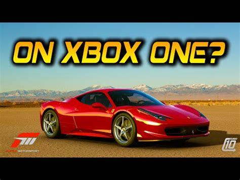 forza 4 xbox one forza 4 on xbox one