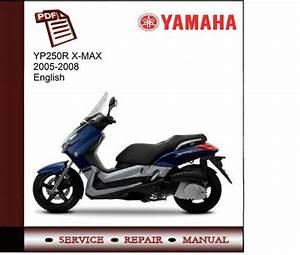 Yamaha Yp250r X Max 2005-2008 Workshop Service Manual