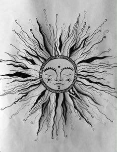 Download Free ideas about Hippie Sun Tattoo on Pinterest   Sun Tattoos Moon Tattoo to use