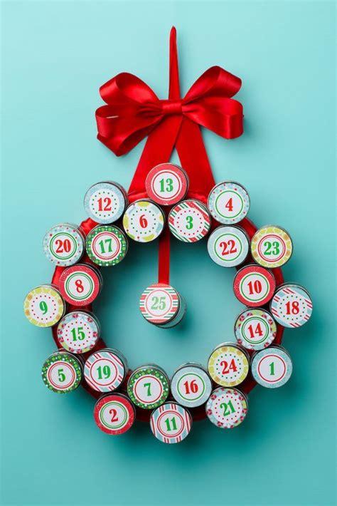 tin advent wreath craft diy advent calendar advent