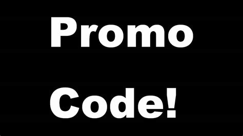 promo code  giveaway youtube