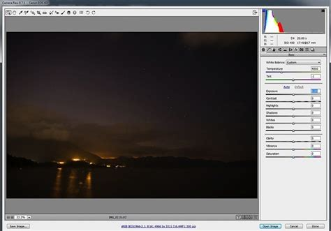 tips  enhancing night sky photography  photoshop