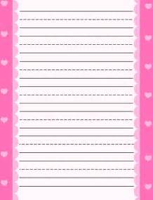 free printable stationery for free lined