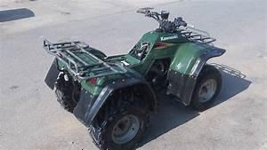 Kawasaki Klf 300c 4x4   1 Year Warranty   Farm Quad Atv