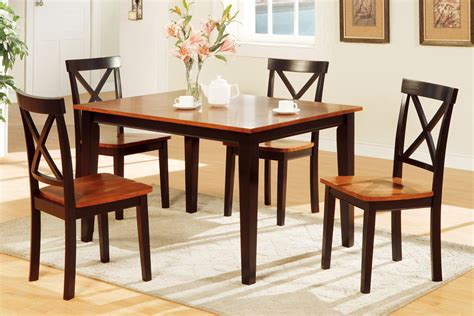 dining table set for 2 5 piece two tone dining set includes chairs huntington