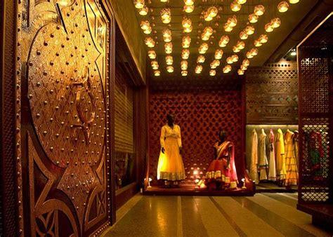 indian bridal shop designed  ethnic style