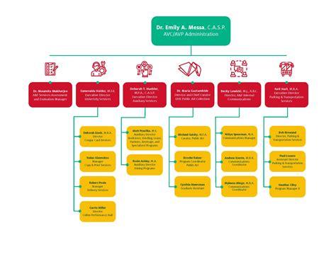 organizational chart university  houston