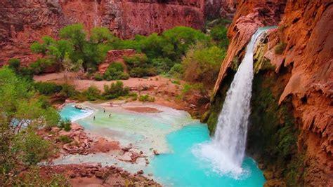 Havasu Falls Havasupai Indian Reservation Grand Canyon