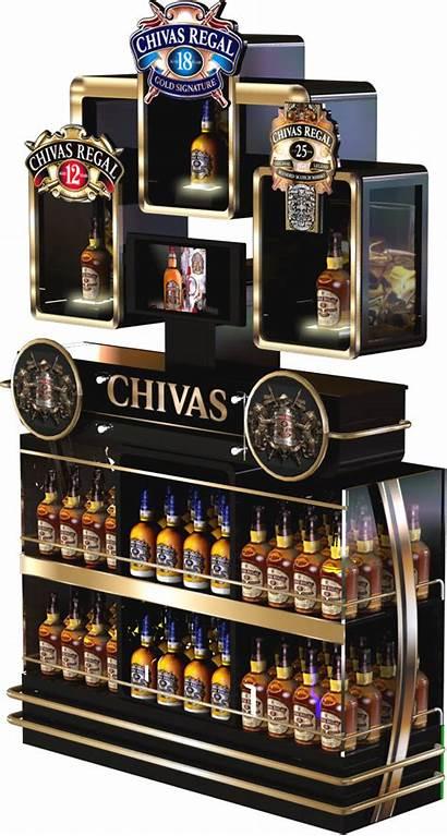 Display Ricard Pernod Chivas Wine Behance Ponta