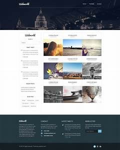 Professional Free Corporate Web Design Template Psd