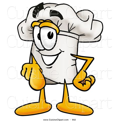 cuisine clipart cuisine clipart of a smiling chefs hat mascot character pointing at the viewer by